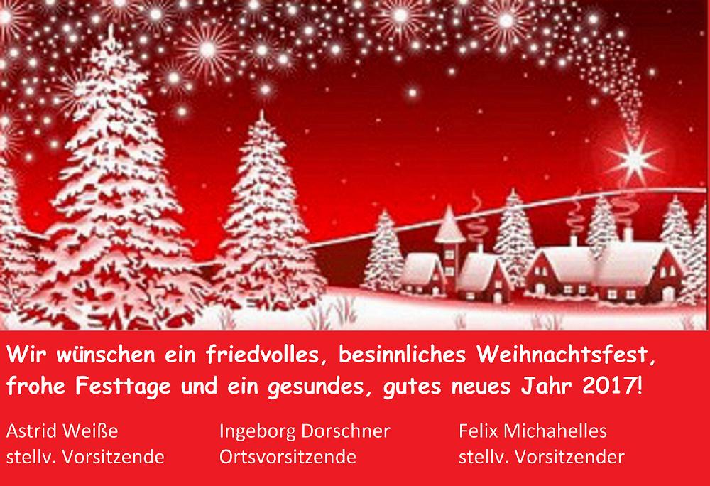 fr hliche weihnachten und ein gutes neues jahr pleinfeld am brombachsee